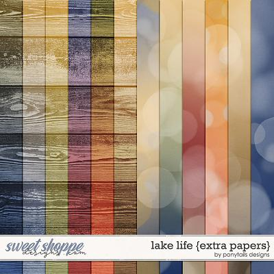 Lake Life Extra Papers by Ponytails