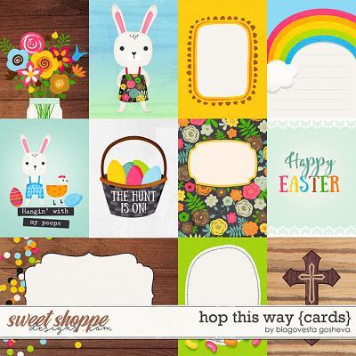 Hop This Way {cards} by Blagovesta Gosheva