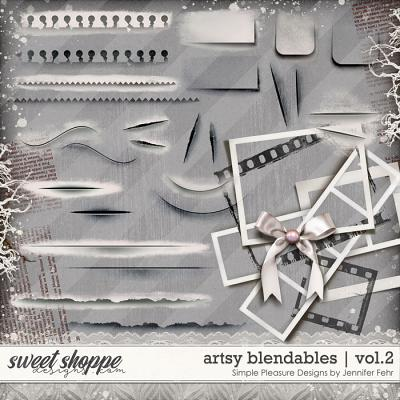 artsy blendables vol.2: Simple Pleasure Designs by Jennifer Fehr