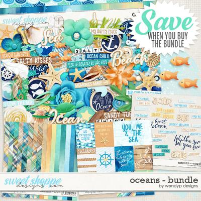 Oceans - bundle by WendyP Designs