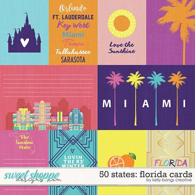 50 States: Florida cards by Kelly Bangs Creative