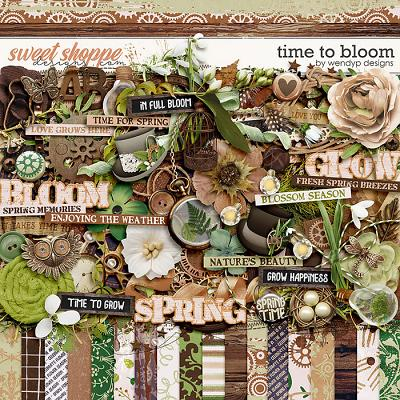 Time to bloom by WendyP Designs
