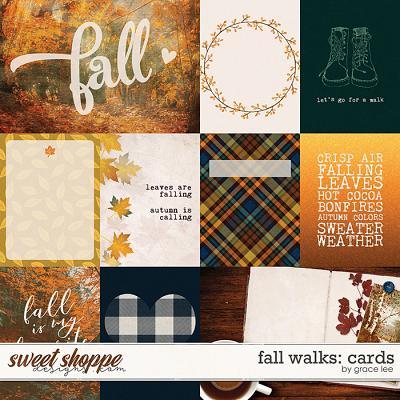 Fall Walks: Cards by Grace Lee