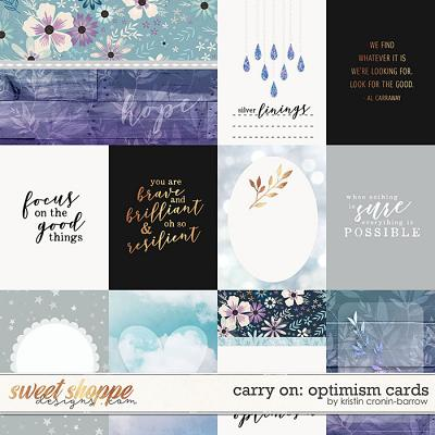 Carry On: Optimism Cards by Kristin Cronin-Barrow