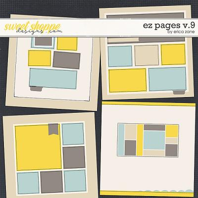 EZ Pages v.9 Templates by Erica Zane