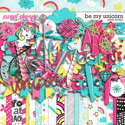 Be My Unicorn by Janet Phillips