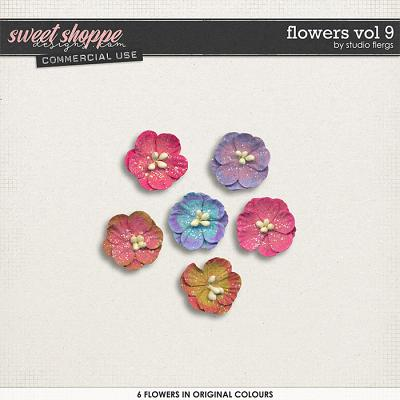Flowers VOL 9 by Studio Flergs