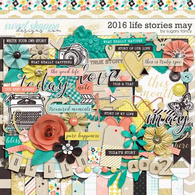 2016 Life Stories - May Kit by Sugary Fancy