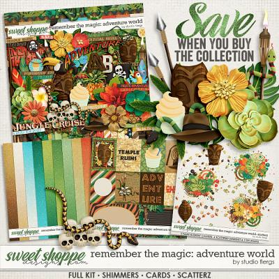 Remember the Magic: ADVENTURE WORLD- COLLECTION & *FWP* by Studio Flergs