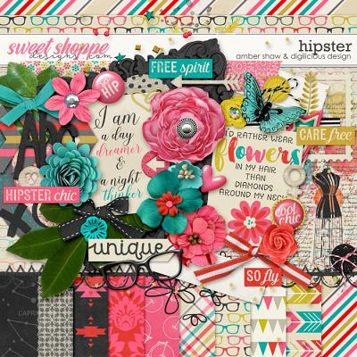 Hipster {Kit} by Digilicious Design & Amber Shaw
