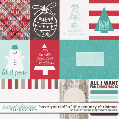 Have Yourself A Country Little Christmas: Cards by WendyP Designs & Two Tiny Turtles