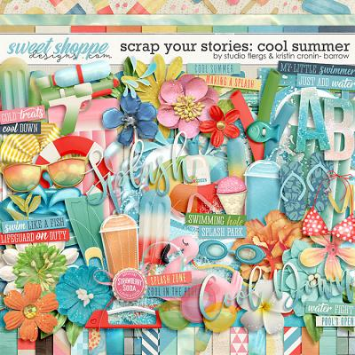 Scrap Your Stories: COOL SUMMER- by Studio Flergs & Kristin Cronin-Barrow