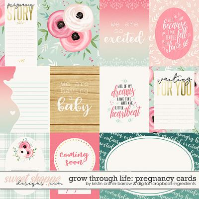 Grow Through Life - Pregnancy | Cards by Kristin Cronin-Barrow & Digital Scrapbook Ingredients