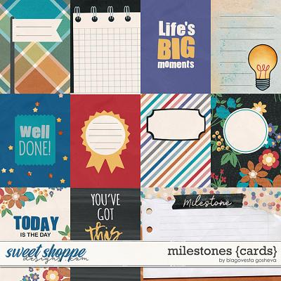 Milestones {cards} by Blagovesta Gosheva