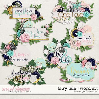 Fairy Tale : Word Art by Meagan's Creations