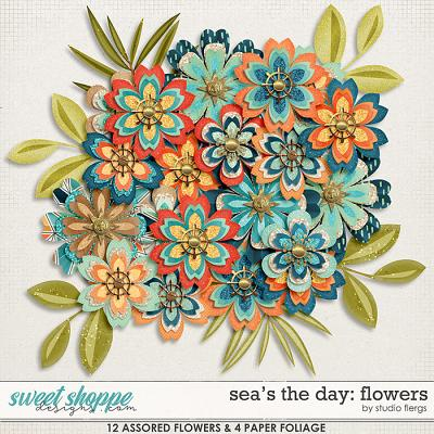 Sea's the Day: FLOWERS by Studio Flergs