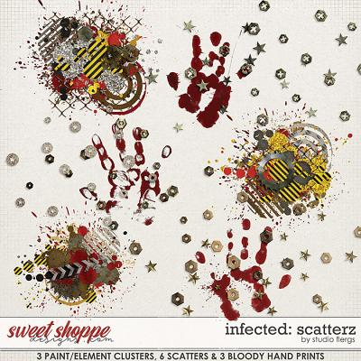 Infected: SCATTERZ  by Studio Flergs