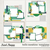 Hello Sunshine Templates by Amber Shaw