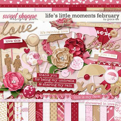 Life's Little Moments February by Grace Lee