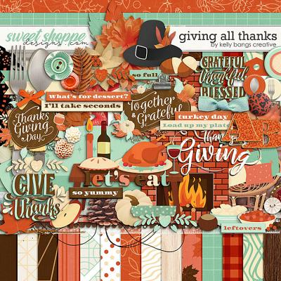 Giving All Thanks by Kelly Bangs Creative