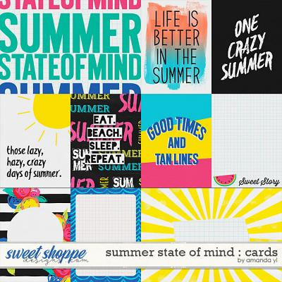 Summer State of Mind : Cards by Amanda Yi
