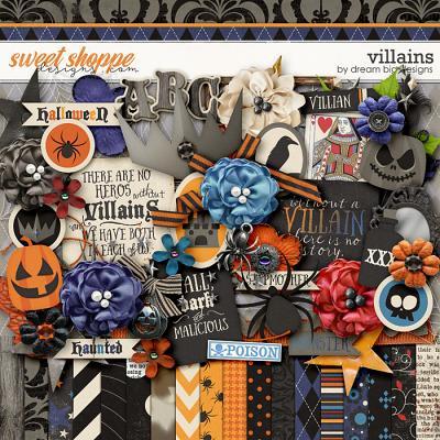Villains by Dream Big Designs