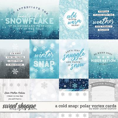 A Cold Snap: Polar Vortex Cards by Kristin Cronin-barrow