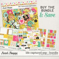 Life Captured September Bundle by Digital Scrapbook Ingredients