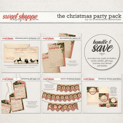 The Christmas Party Pack by On A Whimsical Adventure