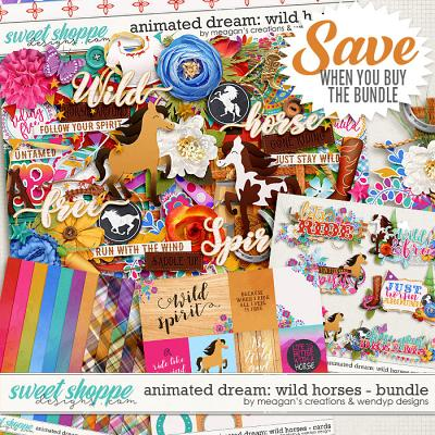 Animated Dream: Wild Horses Collection Bundle by Meagan's Creations & WendyP Designs