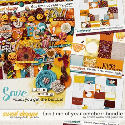 This Time Of Year October: Bundle by Grace Lee and Crystal Livesay