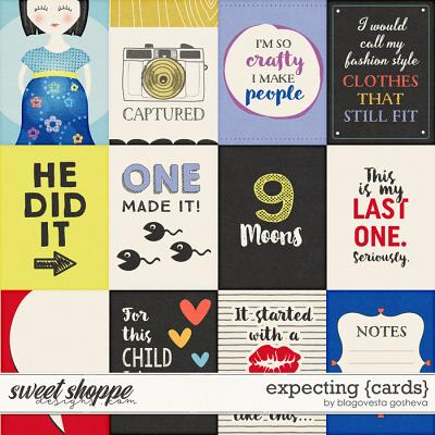 Expecting {Cards} by Blagovesta Gosheva