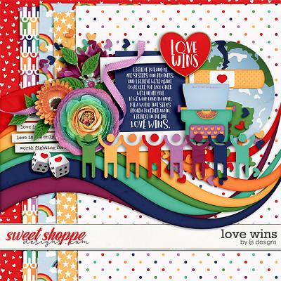 Love Wins by LJS Designs