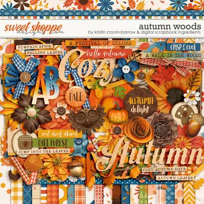 Autumn Woods by Kristin Cronin-Barrow & Digital Scrapbook Ingredients