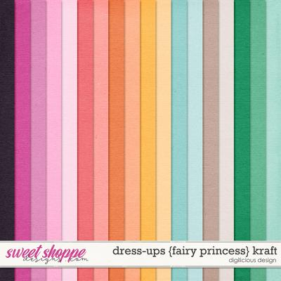 Dress-ups {Fairy Princess} Kraft by Digilicious Design