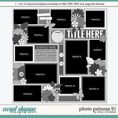 Cindy's Layered Templates - Photo Palooza 91 by Cindy Schneider
