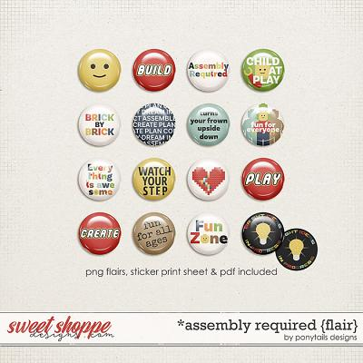 Assembly Required Flair by Ponytails