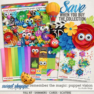 Remember the Magic: PUPPET VISION- COLLECTION & *FWP* by Studio Flergs