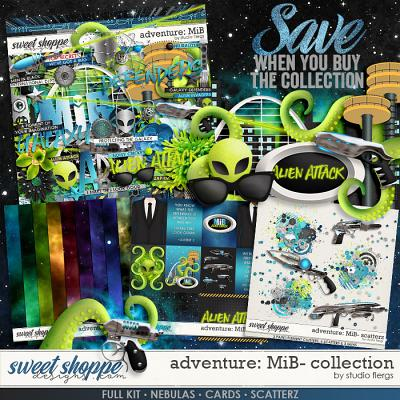 Adventure: MiB- COLLECTION & *FWP* by Studio Flergs