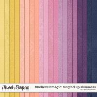 #believeinmagic: Tangled Up Shimmers by Amber Shaw