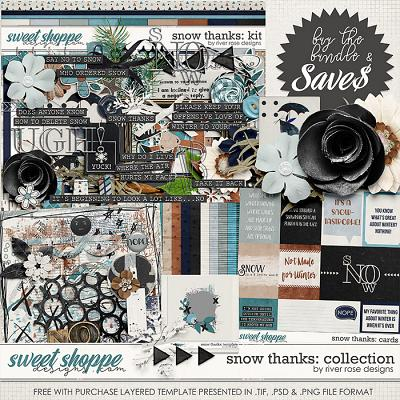 Snow Thanks: Collection + FWP by River Rose Designs