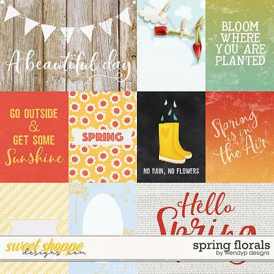 Spring Florals - Cards by WendyP Designs