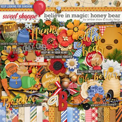 Believe in Magic: Honey Bear by Amber Shaw & Studio Flergs