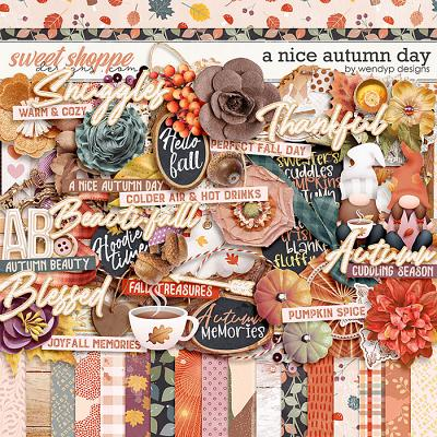 *FREE with your $10 Purchase* A Nice Autumn Day by WendyP Designs