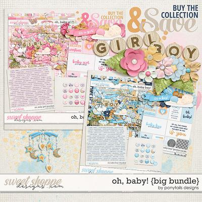 Oh Baby! Big Bundle by Ponytails