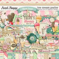 Icecream Parlor Kit by Amber Shaw & Digilicious Design