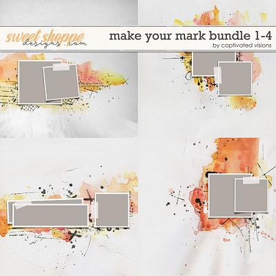 Make Your Mark Bundle 1-4 by Captivated Visions