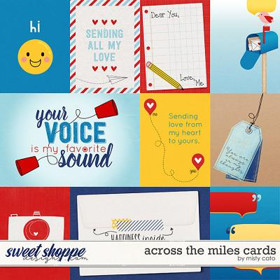 Across the Miles Cards by Misty Cato