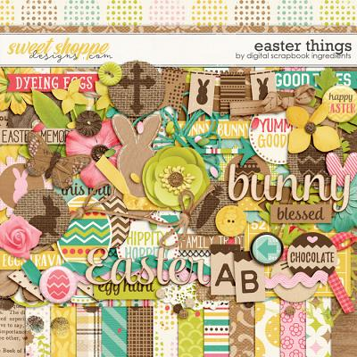Easter Things by Digital Scrapbook Ingredients