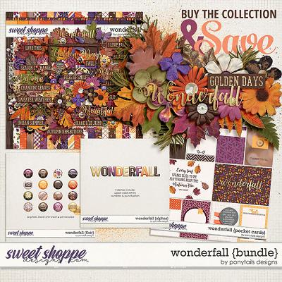 Wonderfall Bundle by Ponytails